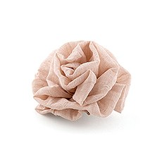 Fabric Ruffle Flower - Medium