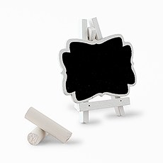 Decorative Chalkboards With White Frame - Small