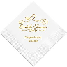 Bridal Shower Printed Napkins