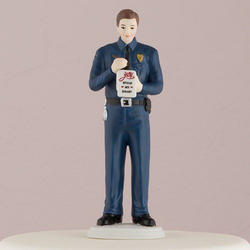 Police Officer Wedding Cake Toppers Uk