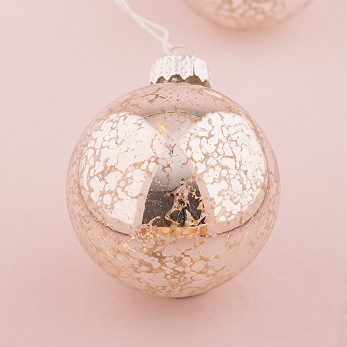 String of Lights with Mercury Glass Globes - Battery LED - Weddingstar