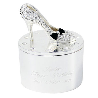 Shoe Trinket Box