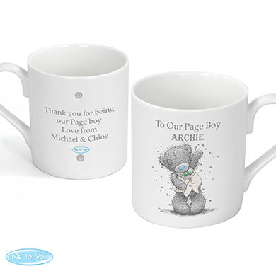 Personalized Page Boy Wedding Mug Favor Gift