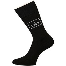 Usher Wedding Socks