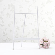 White Table Planner Stand