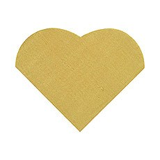 Small Heart Shaped Napkin Pack