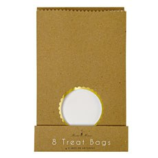 Bake Shop Kraft Treat Gift Bags