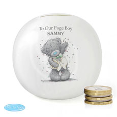 Personalized Me to You Money Box for Page Boys