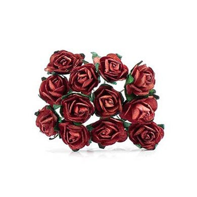 Chocolate Brown Tea Roses - 24 Pack