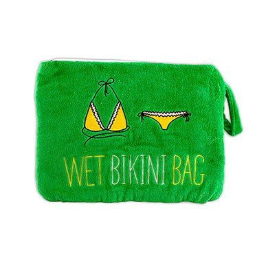 Wet Bikini Bag Green