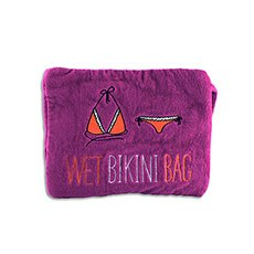 Wet Bikini Bag - Plum