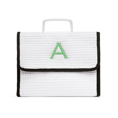 Stand Up Waffle Cosmetic Bag - White