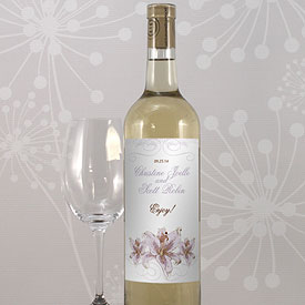 Lily Wine Label