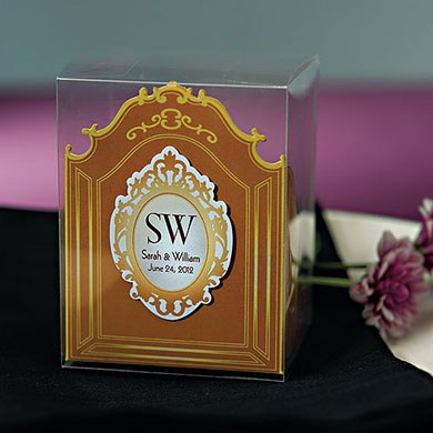 wedding mirror frame stationery sticker