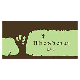 Fairytale Charm Small Wedding Drink Ticket