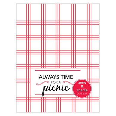 Picnic Wedding Note Card