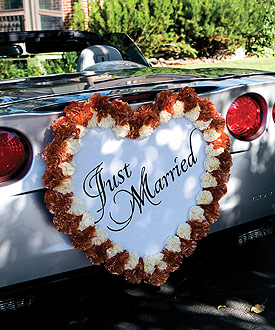 Single Heart Form Wedding Decoration