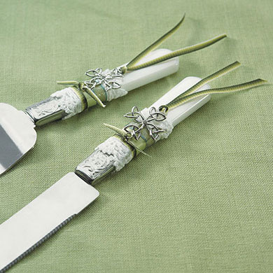 Celtic Charm Wedding Cake Serving Set
