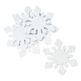 Winter Wedding Snowflake Decorations