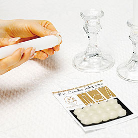 Wax Wedding Candle Adapters Accessory