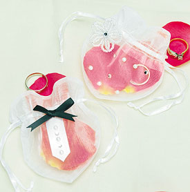 Ceremony Accessory Ring Pouch Set