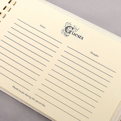 Beverly Clark Venetian Elegance Collection Guest Book