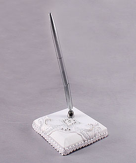 Beverly Clark Royal Lace Collection Penholder