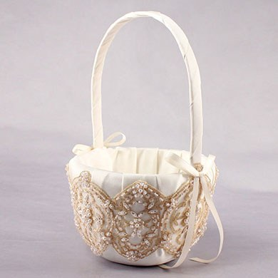 Beverly Clark The Luxe Collection Flower Girl Basket