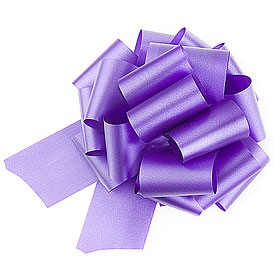 Wedding Reception Colored Poly Ribbon Pull Bows Accessories