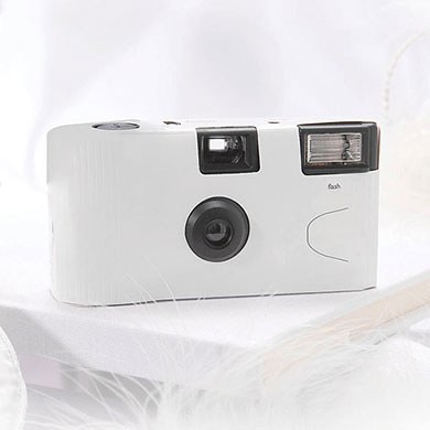 White Disposable Camera