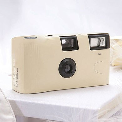 Ivory Disposable Camera