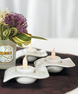 Battery Operated Flickering Wedding Tea light Candles