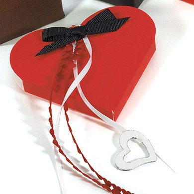 Passion Red Wedding Favor Boxes