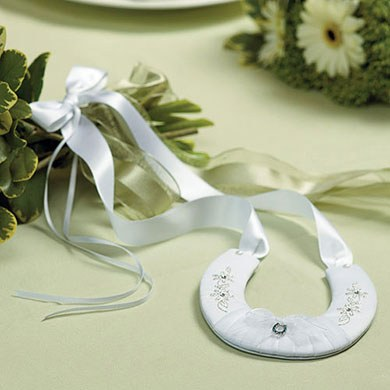 Traditional Wedding Ceremony Lucky Horseshoe