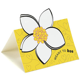 bee wedding card accessories