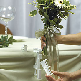 Wedding Reception Flower Bouquet Display Accessory