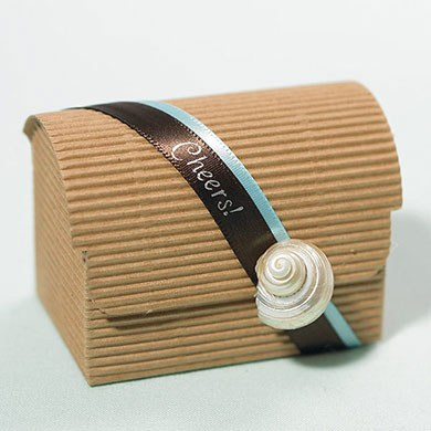 Onda Avana Chest Wedding Favor Boxes