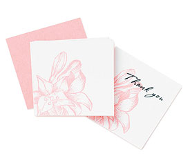 Lily Favor Tags