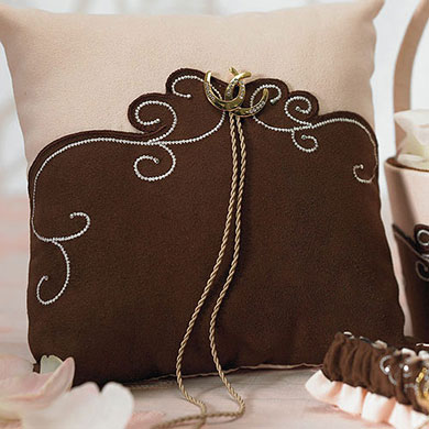 Ceremony Accessory Western Ring Pillow