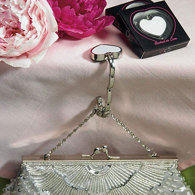 Bridal Accessory Evening Bag with Beaded Burst