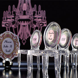 Mini Chairs for Wedding Table Decoration