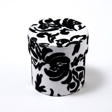 love bird damask wedding favor box