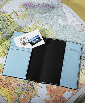 Mr. & Mrs. Passport Covers Wedding Gift Set