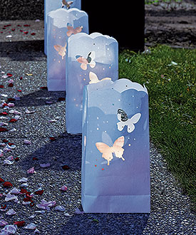 Luminaries On Pinterest Paper Bags Cricut And Christmas Villages