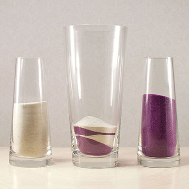 Classic Sand Ceremony Vase Set