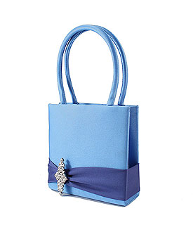 The Crystal Color Personality Flower Girl Petal Purse