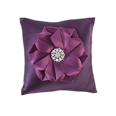 The Stephanie Color Personality Ring Bearer Ring Pillow