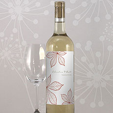 Autumn Leaf Wine Label