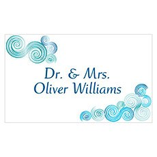 Sea Breeze Table Sign Card