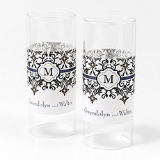 Lavish Monogram Mini Luminary Wrap